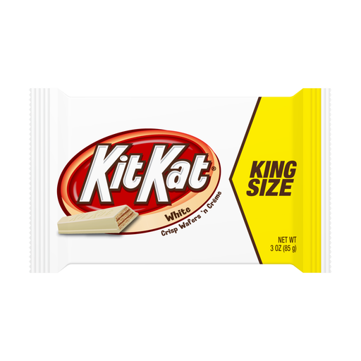Kit Kat White Chocolate King Size, 24 CT - 3 OZ