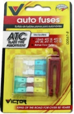 Auto Fuses ATC Blade Type Assortment & Fuser Puller, 1 CT - PK