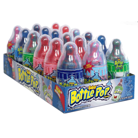 Baby Bottle Pop Candy, 18 CT - 1.1 OZ