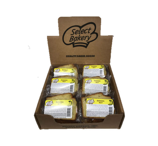 Select Bakery Banana Nut Pound Cake, 12 CT - 3 OZ