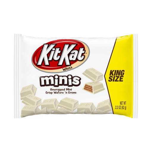 Kit Kat White Minis King Size, 12 CT - 2.2 OZ