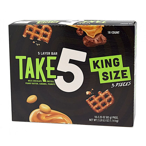 Hershey's Take 5 King Size, 18 CT - 2.25 OZ