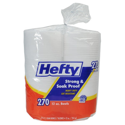 12oz Hefty Foam Bowls 270ct