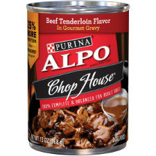 Alpo Chop House Beef Tenderlion Flavor in Gourmet Gravy, 12 - 13.2 OZ