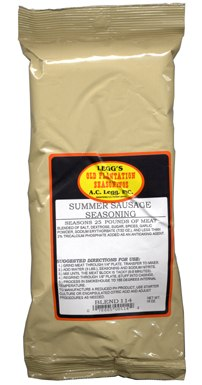 A.C. Legg Summer Sausage Seasoning, Blend #114, 24 - 18 OZ
