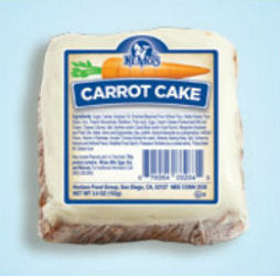 Ne-Mo's Frosted Carrot Cake, 6 CT - 4 OZ