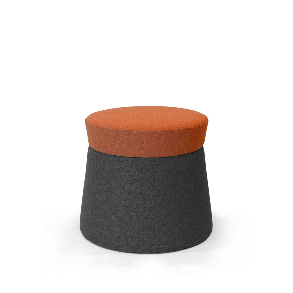 Mov Pouffe -Sunset/Gravel