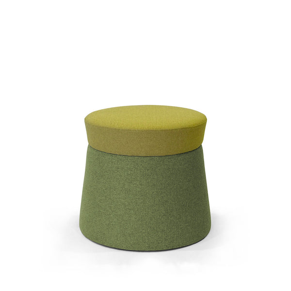 Mov Pouffe - Citrine/Amazon