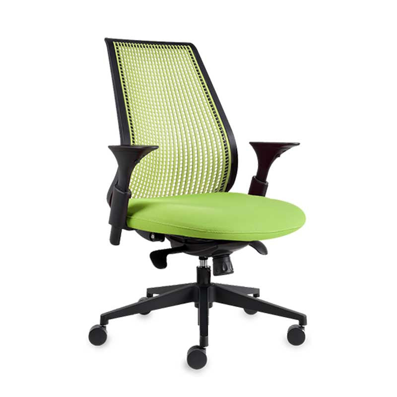 A-Balance Green Colour Office Chair