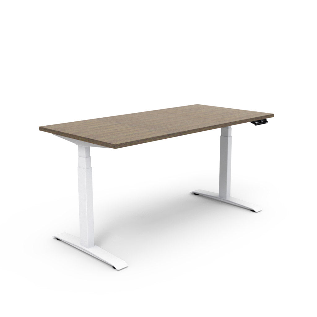 Adjust Rectangular Height-Adjustable Table - Marinus Walnut