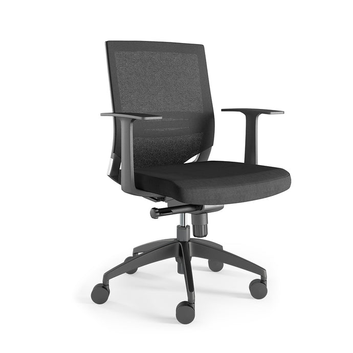 U-Mesh Lowback (Fixed armrests)