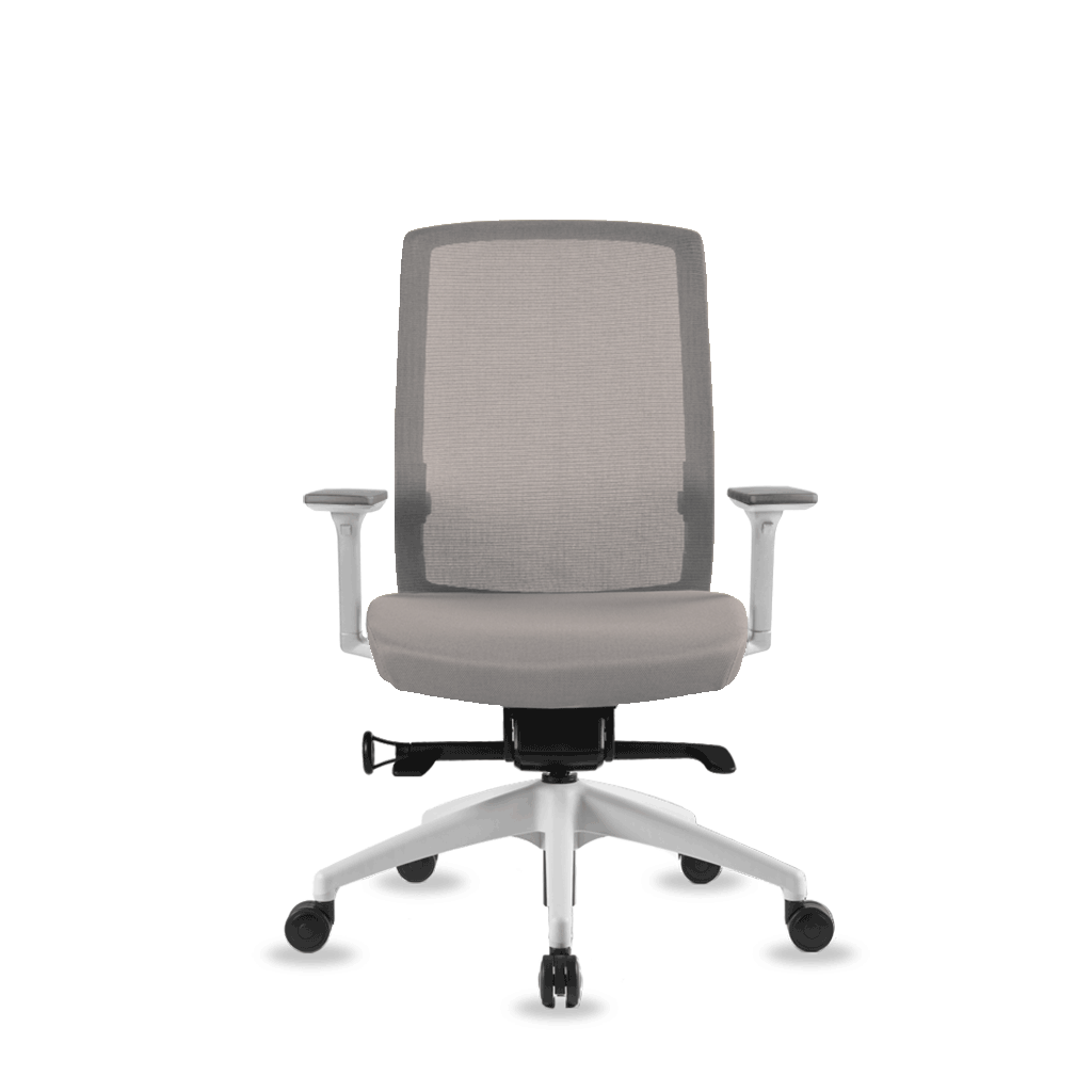 Evo Midback - White/Cool Grey