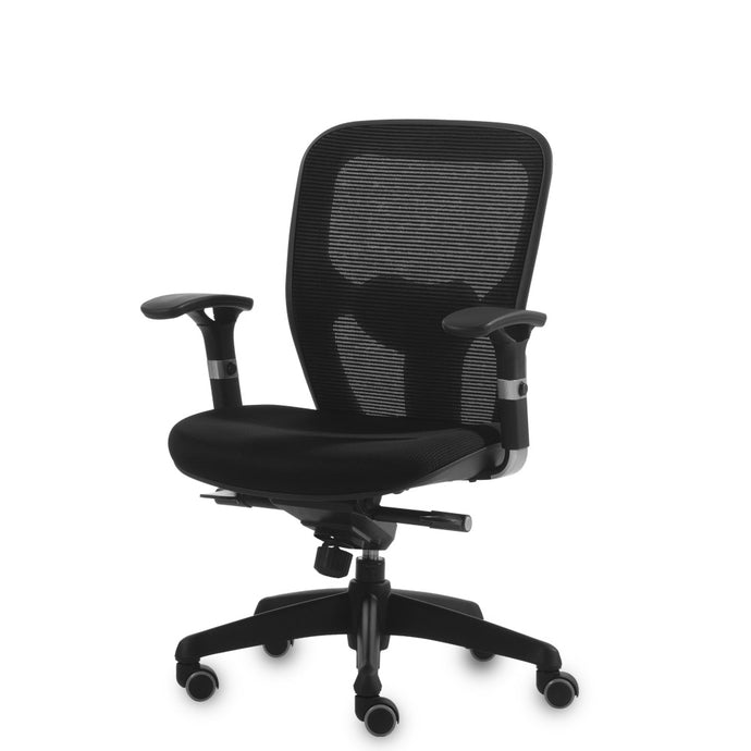Q-Mesh Midback (Adjustable Armrests)