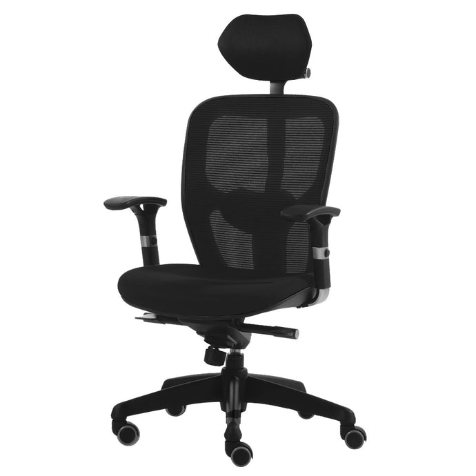 Q-Mesh Highback (Adjustable Armrests)