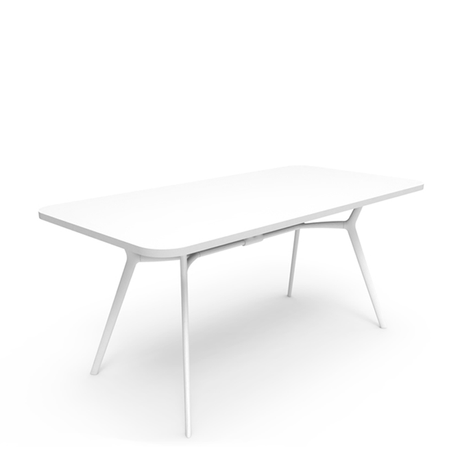 Snow Rectangular Table