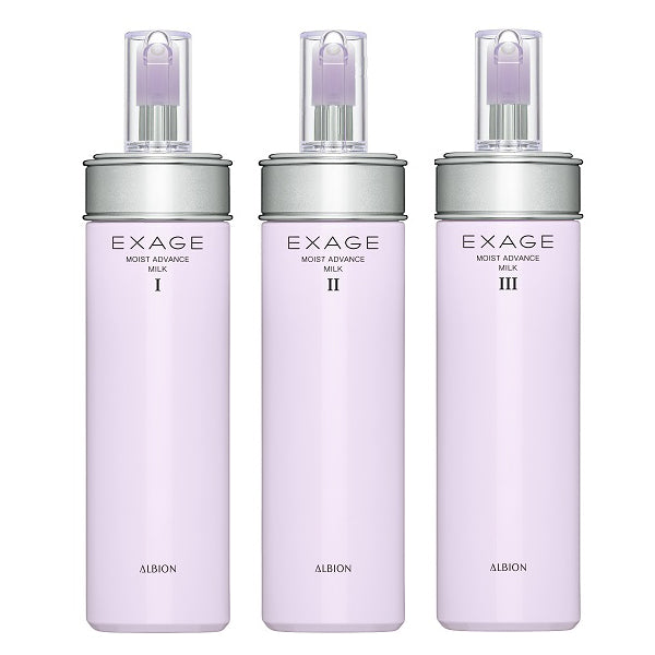 [Pre-Order] ALBION Exage Moist Advance Milk