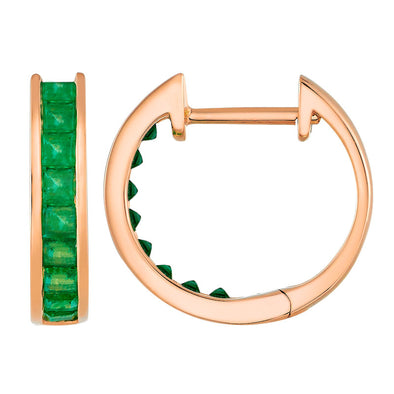 Elphaba Emerald Hoops
