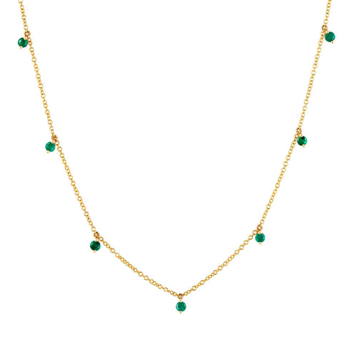 Elphaba Emerald Necklace