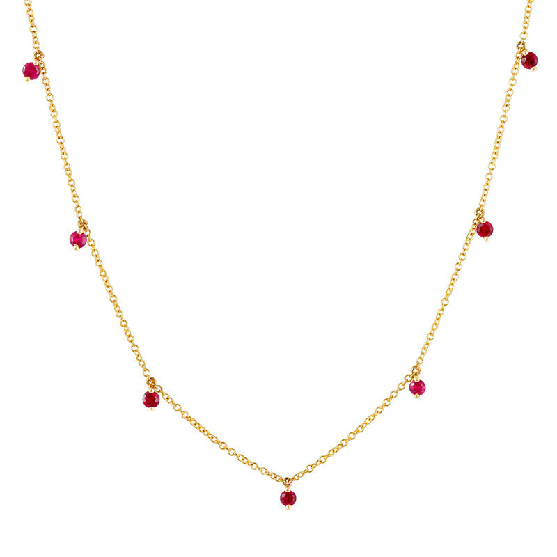 Ruby Kiss Necklace
