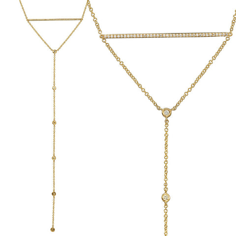 Thames Lariat Necklace