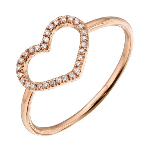 'Open Heart' Ring