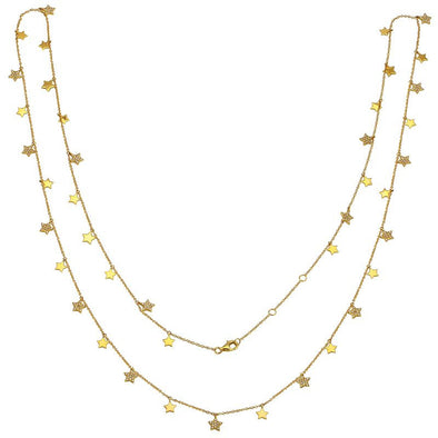 34 in. Falling Stars Necklace