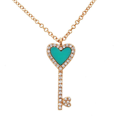 Turquoise Locked Down Necklace