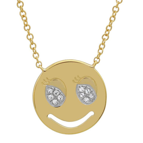 Flirty Emoji Necklace