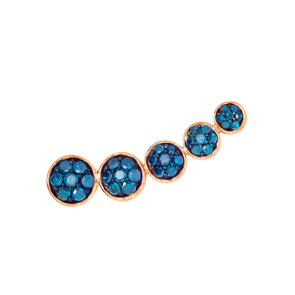Blue Diamond Boho Ear Crawler