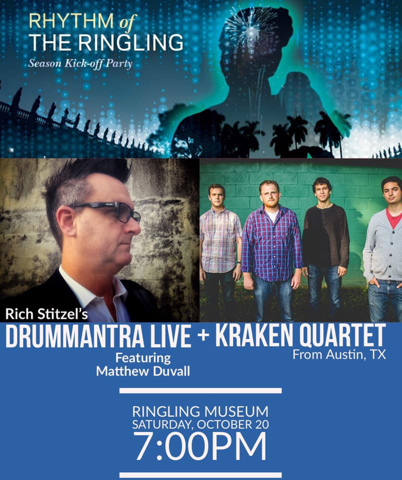 DrumMantra Live debut performance at The Ringling Museum!