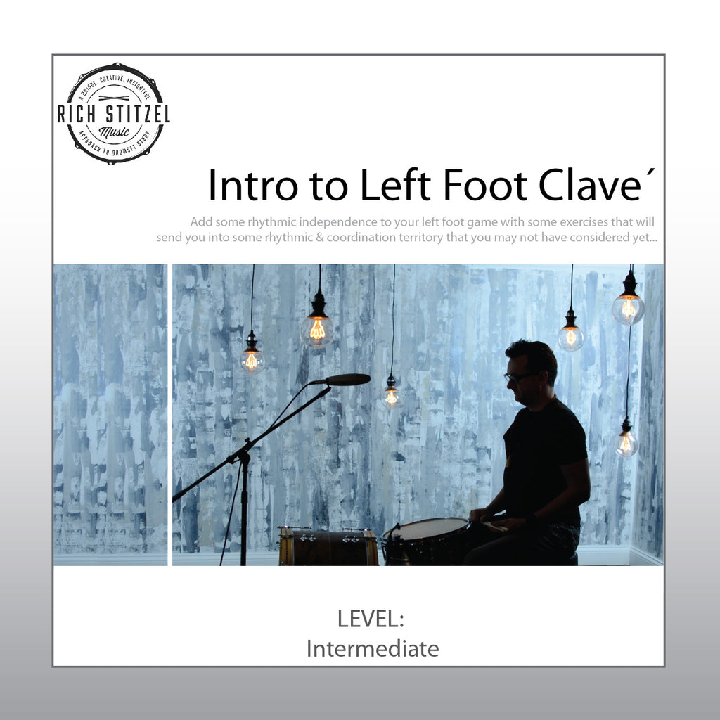 Intro to Left Foot Clavé