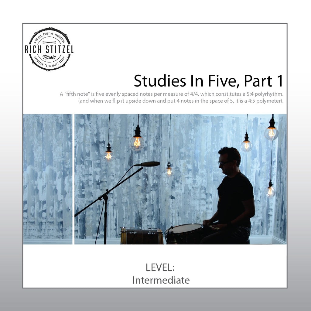 Studies In Five: A Primer, Pt. 1