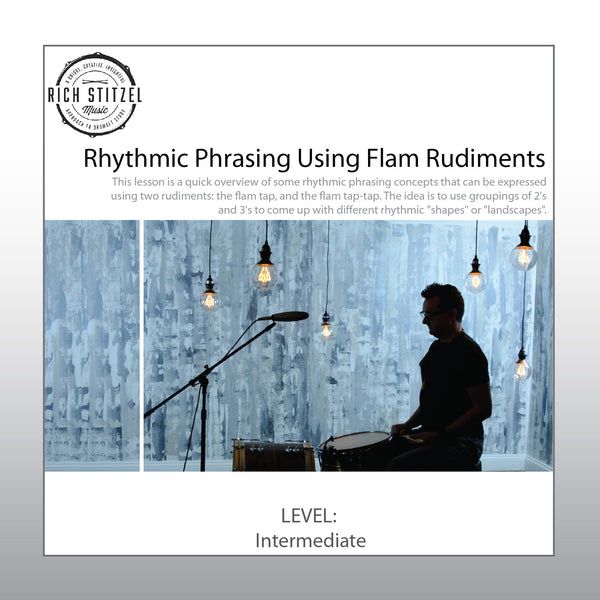 Rhythmic Phrasing using Flam-Taps