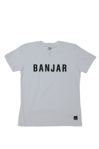 BANJAR Tee. Black | White