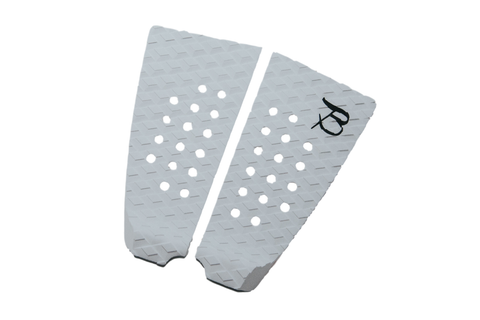 Flat 2 Piece Tail Pad- White