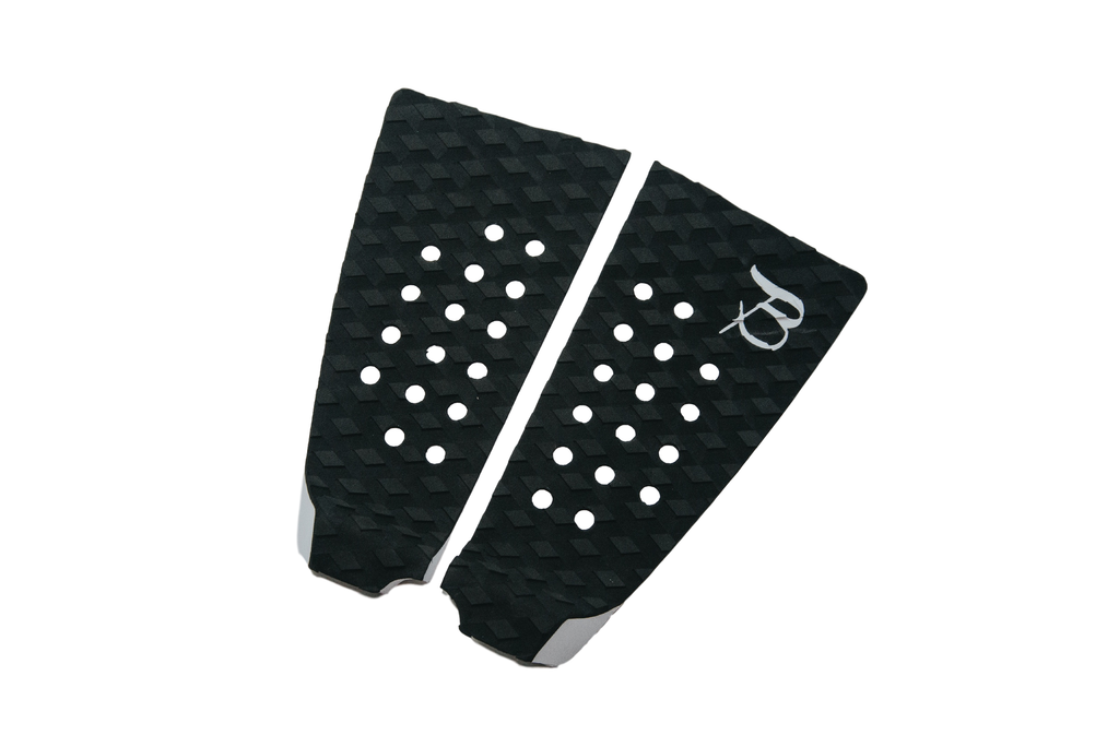 Flat 2 Piece Tail Pad- Black