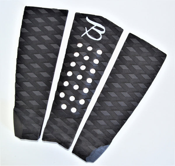 Arch 3 Piece Tail Pad- Black