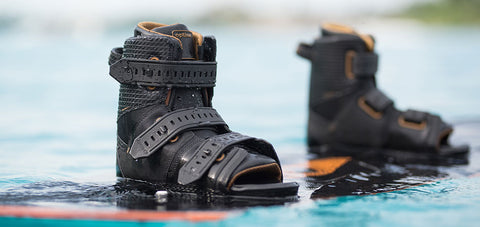 open toe wakeboard boots