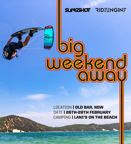 Kiteboarding event Big Weekend Away Old Bar New South Wales