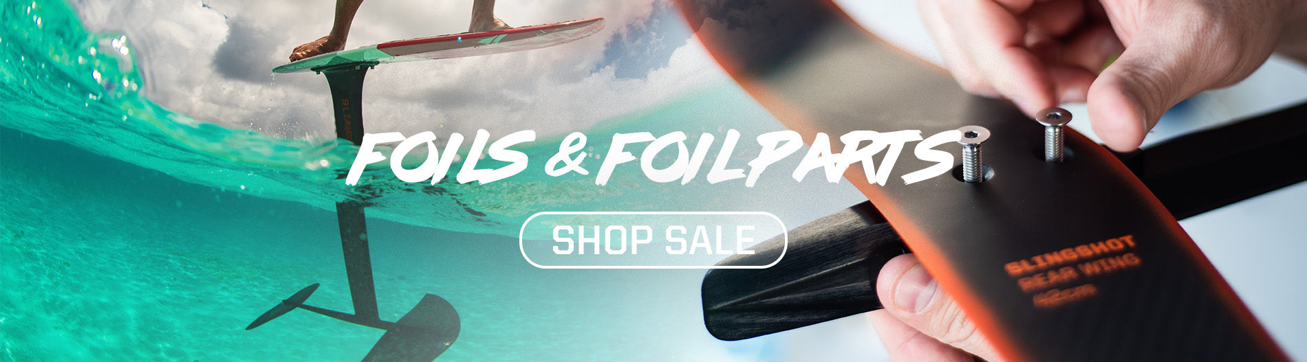Slingshot foils and foil parts october 2019 clearance sale