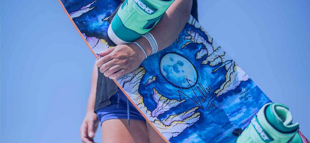 SLINGSHOT WAKE 2018 | ARTIST FEATURE: KIM KIRCH AND THE VALLEY WAKEBOARD