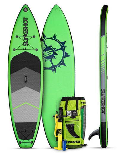 2018 Slingshot Crossbreed Airtech v3- 11' Green Inflatable SUP