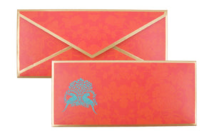 Load image into Gallery viewer, Parakeet Motif Blue Envelope