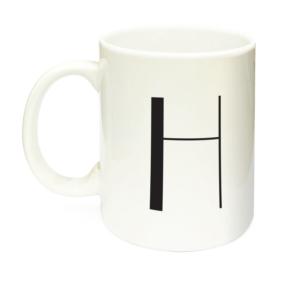 Alphabet & Name Mug (White)