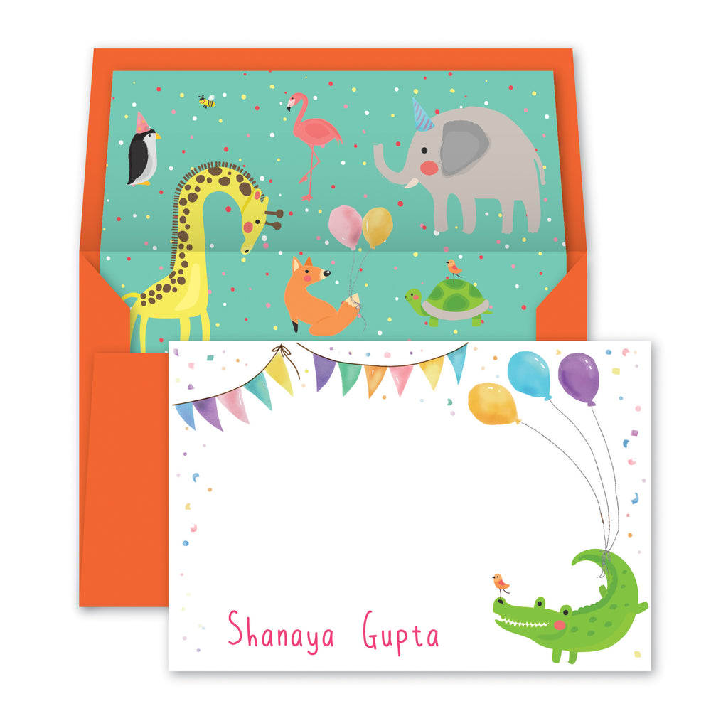 Jungle Friends Notecards