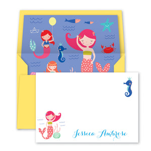Mermaid Notecards