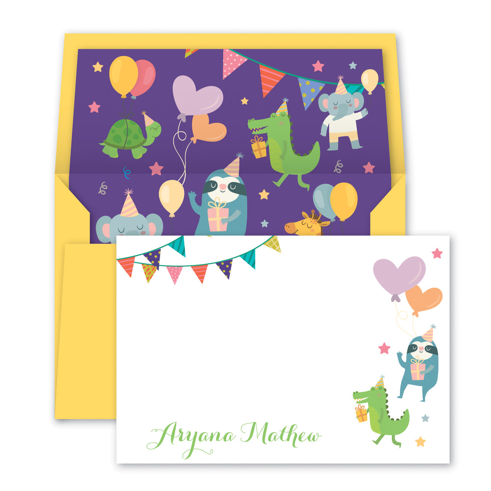 Cute Critters Notecards