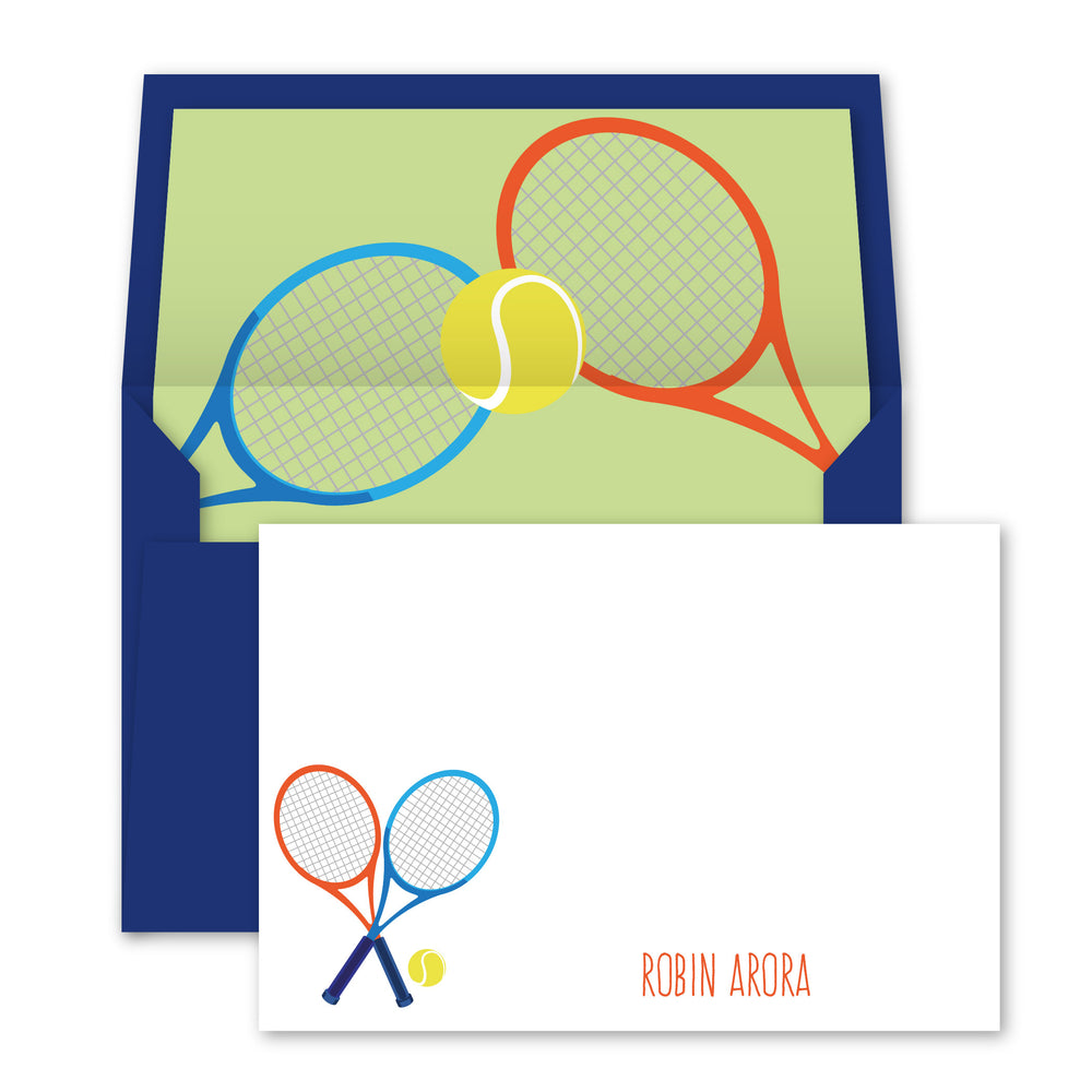 Tennis Notecards