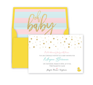 Load image into Gallery viewer, Oh baby shower