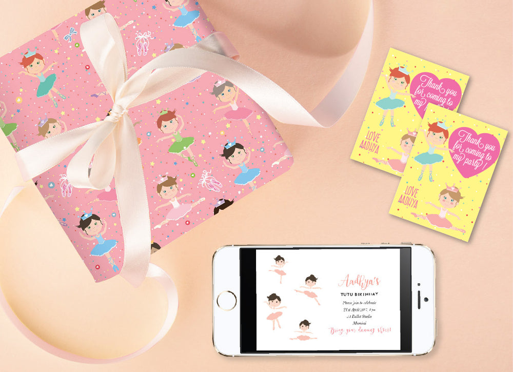 Ballerina Birthday Bundle